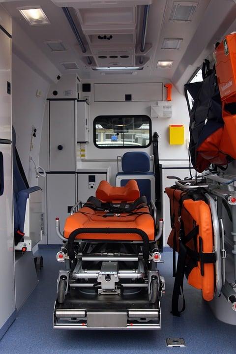 Ambulance Casablanca médicalisée et équipée