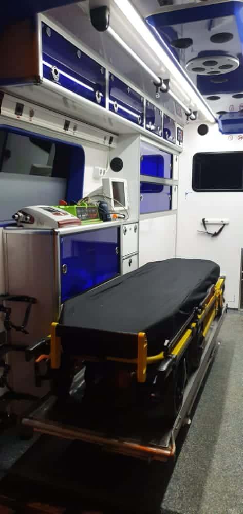 ambulance casablance medicalisee